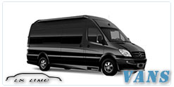 Luxury Van service in Kansas City