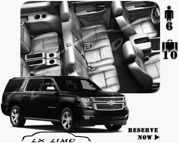 SUV Suburban for hire in Kansas City