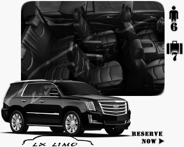 SUV Escalade for hire in Kansas City MO