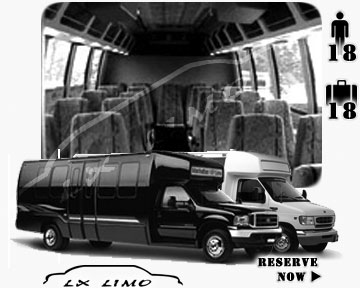 Kansas City Mini bus for hire