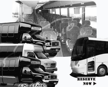 Kansas City Bus rental 36 passenger